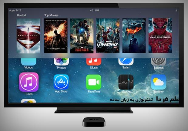 رابط کاربری 10 فوت در اپل تی وی Apple TV