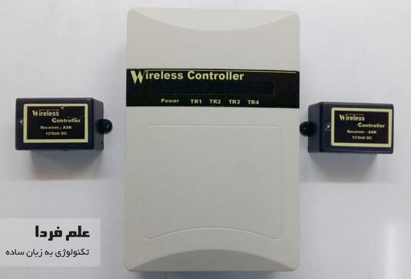 کنترل بی سیم دستگاه های برقی با پورت USB