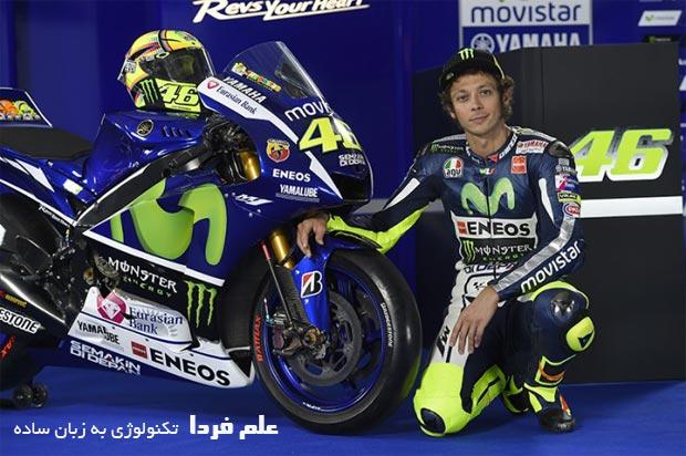 والنتینو روسی Valentino Rossi پر افتخار ترین موتور سوار جهان