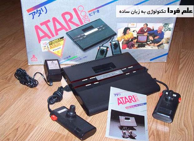 کنسول بازی Atari 2800 نسخه ژاپنی Atari 2600
