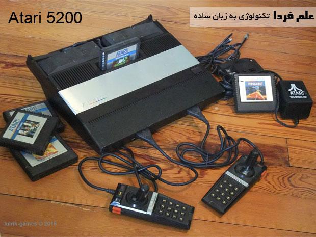 کنسول بازی Atari 5200 - از سال 1982 تا 1984