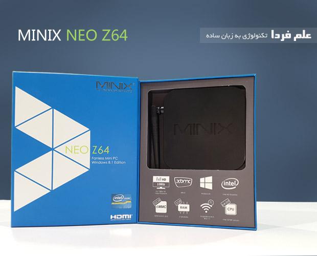 پکیج مینی کامپیوتر Minix NEO Z64