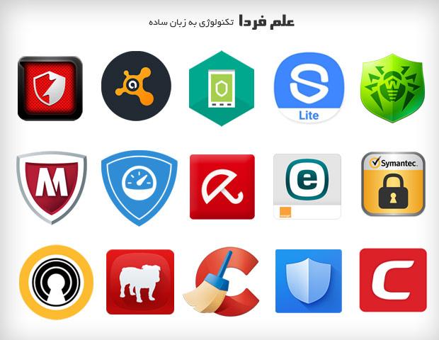 بهترین نرم افزار های آنتی ویروس برای گوشی موبایل