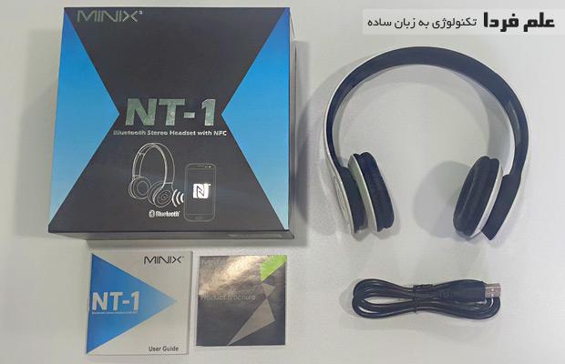 آنباکس مینیکس NT1 - محتویات داخل بسته بندی