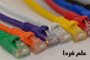 کابل شبکه چیست ؟ انواع کابل شبکه یا LAN