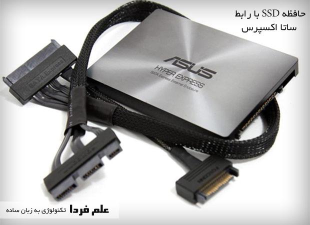 حافظه SSD با رابط ساتا اکسپرس