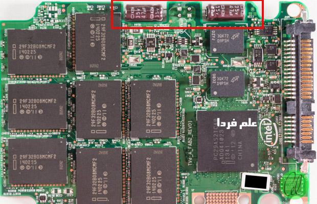 کالبد شکافی SSD - خازن های الکترولیت