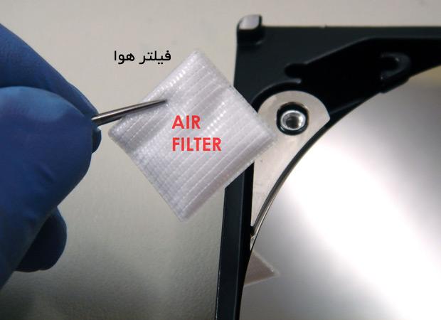 فیلتر هوا در هارد درایو HDD