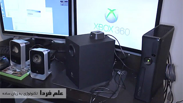 اتصال ایکس باکس 360 به مانیتور