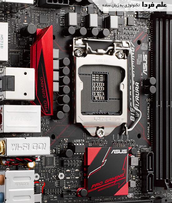 سوکت 1151 مخصوص پردازنده های اسکای لیک