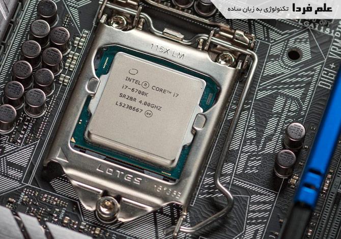 پردازنده اسکای لیک سری K