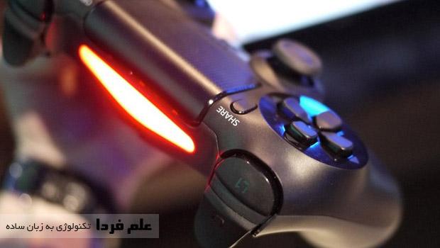 نور دسته پلی استیشن 4 یا PS4