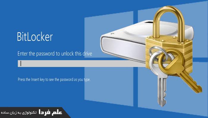 نرم افزار بیت لاکر Bitlocker در ویندوز 10 پرو