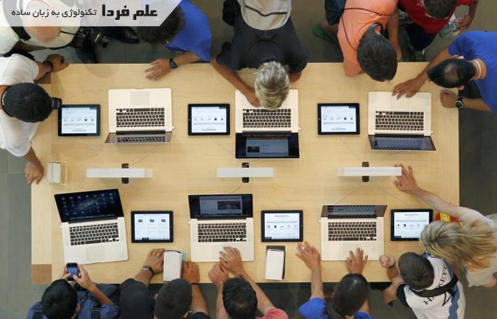 فروشگاه لپ تاپ اپل Apple