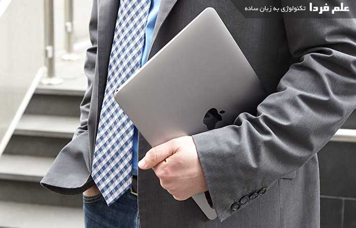 مک بوک اپل شبیه به آیپد