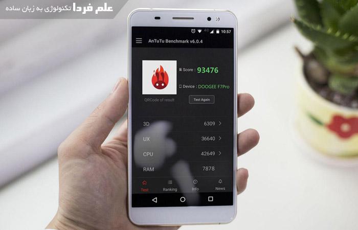 بنچمارک Antutu در گوشی LG G5