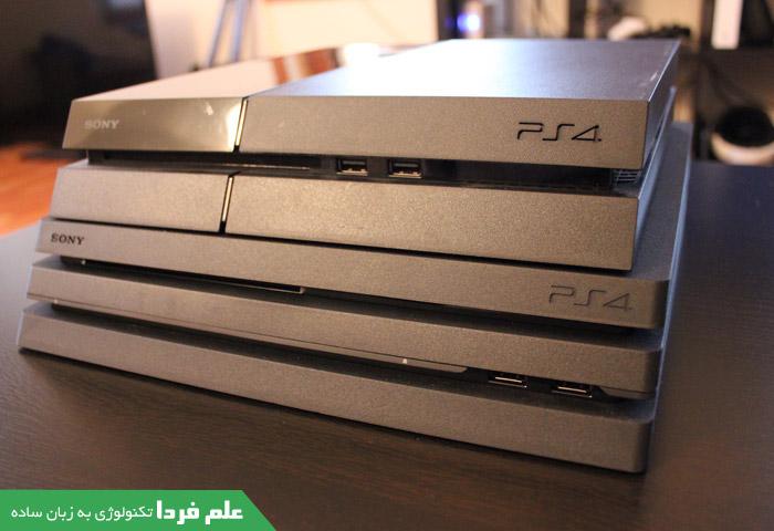 فرق PS4 Pro و پلی استیشن معمولی - ظاهر