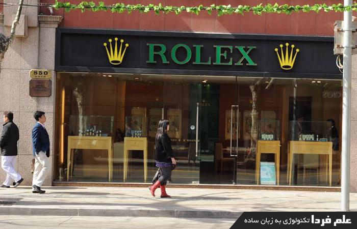 فروشگاه ساعت رولکس