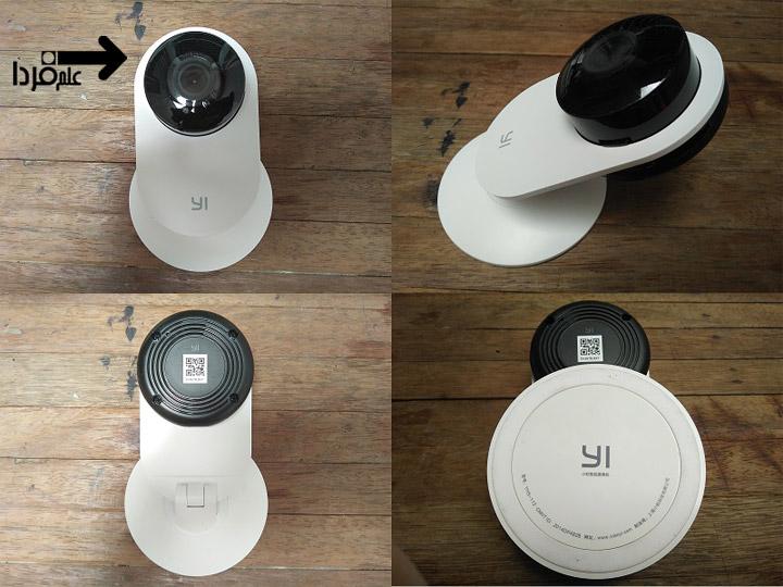 طراحی دوربین نظارتی شیائومی Yi Home