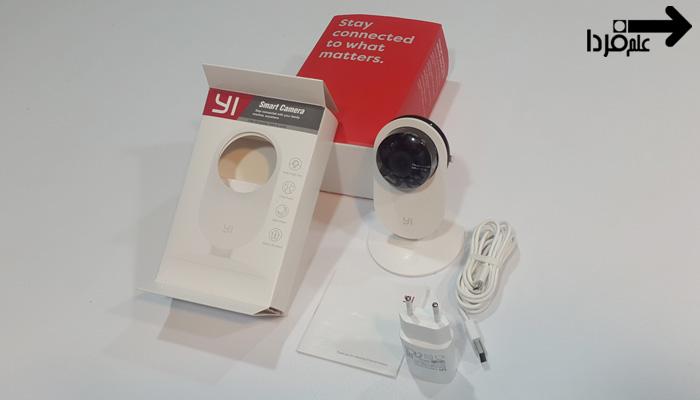 اقلام موجود در بسته دوربین نظارتی Yi Home Camera