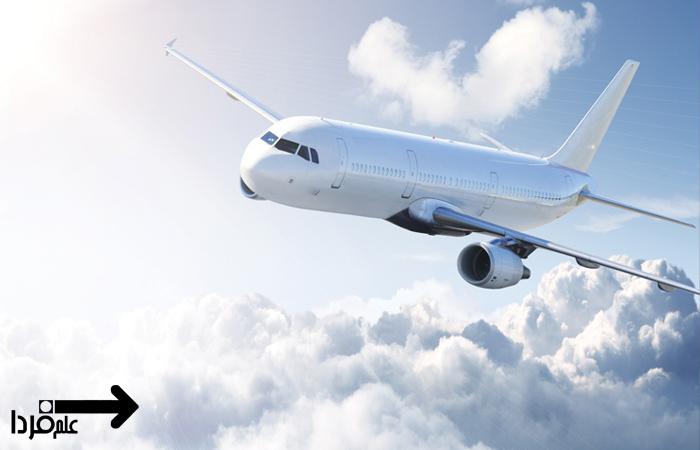 چرا رنگ هواپیما سفید است