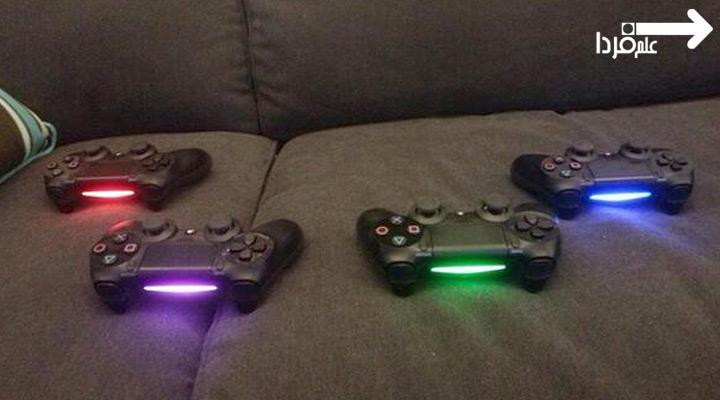 لایت بار ؛ نور دسته PS4 در چهار رنگ