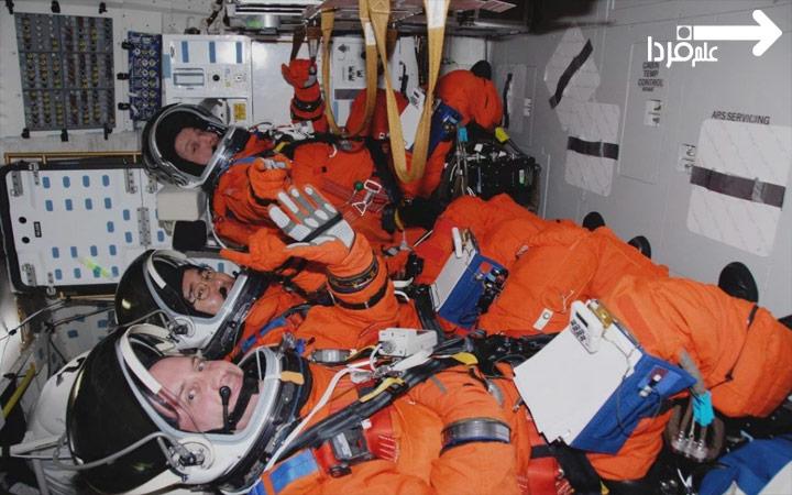 لباس فضانوردی نارنجی