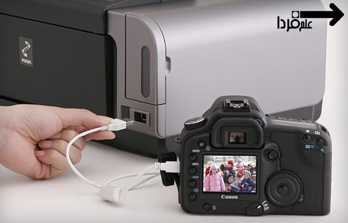 اتصال دوربین به پرینتر از طریق pictbridge