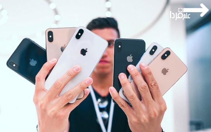 رنگ بندی آیفون ایکس اس - iPhone XS Colors