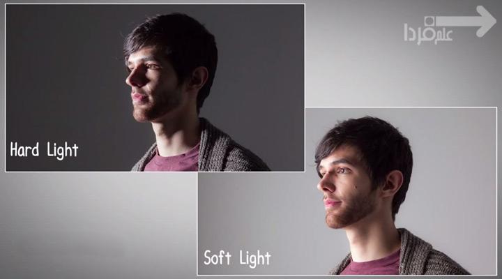 تاثیر نور سخت و نور نرم در عکاسی