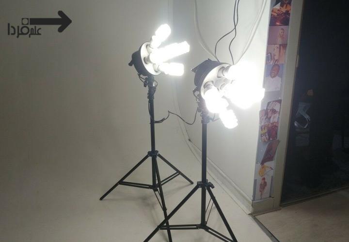 لامپ سافت باکس