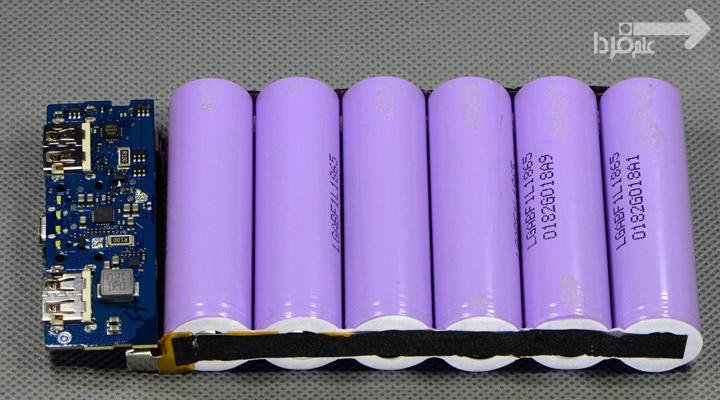 باتری اصلی ال جی در پاوربانک اریجینال