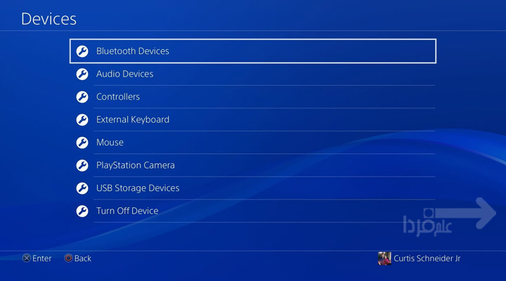 اتصال کیبورد و موس وایرلس به PS4