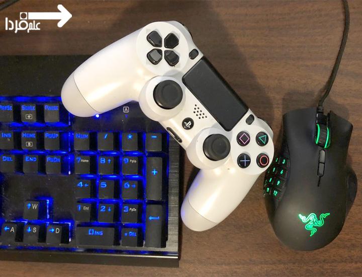 اتصال کیبورد و موس به PS4