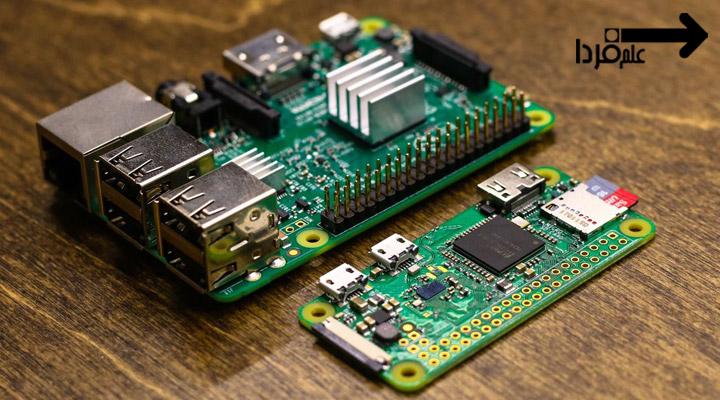 رزبری پای 2 نسخه b و رزبری پای زیرو